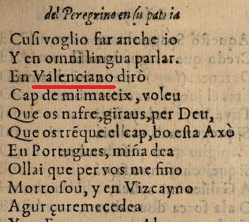 Lope de Vega; El peregrino en su patria, 1604, valenciano
