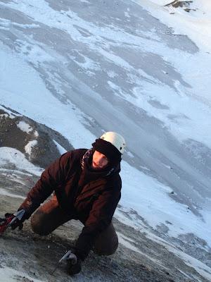 Nome Alaska ice climbing