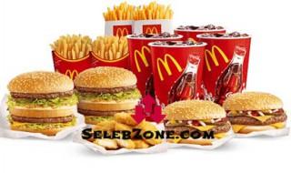 Katalog Daftar Harga Menu McDonalds MCD Delivery Terbaru