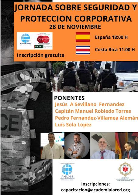 Jornada sobre Seguridad y Protección Corporativa