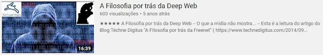 Filosofia da DeepWeb