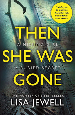 Then She Was Gone by Lisa Jewell book cover