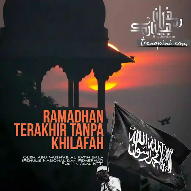 Semoga ini menjadi Ramadhan terakhir tanpa Khilafah. Tanpa penjajahan dan penindasan. Semoga Kaum Muslimin melalui bulan suci Ramadhan ini dengan ketakwaan baru yang akan bermuara pada satu kesadaran umum untuk mempersatukan umat dalam Khilafah