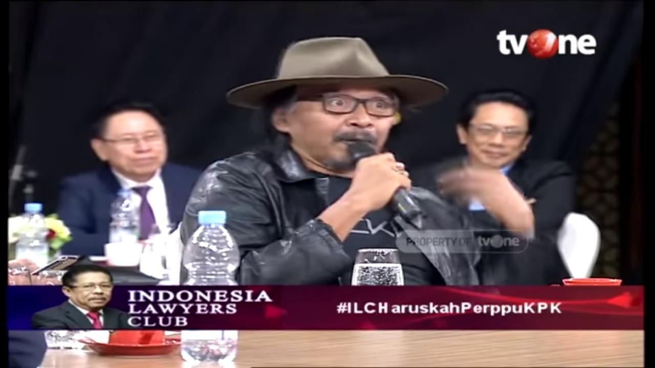 Tolak UU KPK, Sudjiwo Tedjo: Wajar Kita Tak Percaya Presiden dan DPR