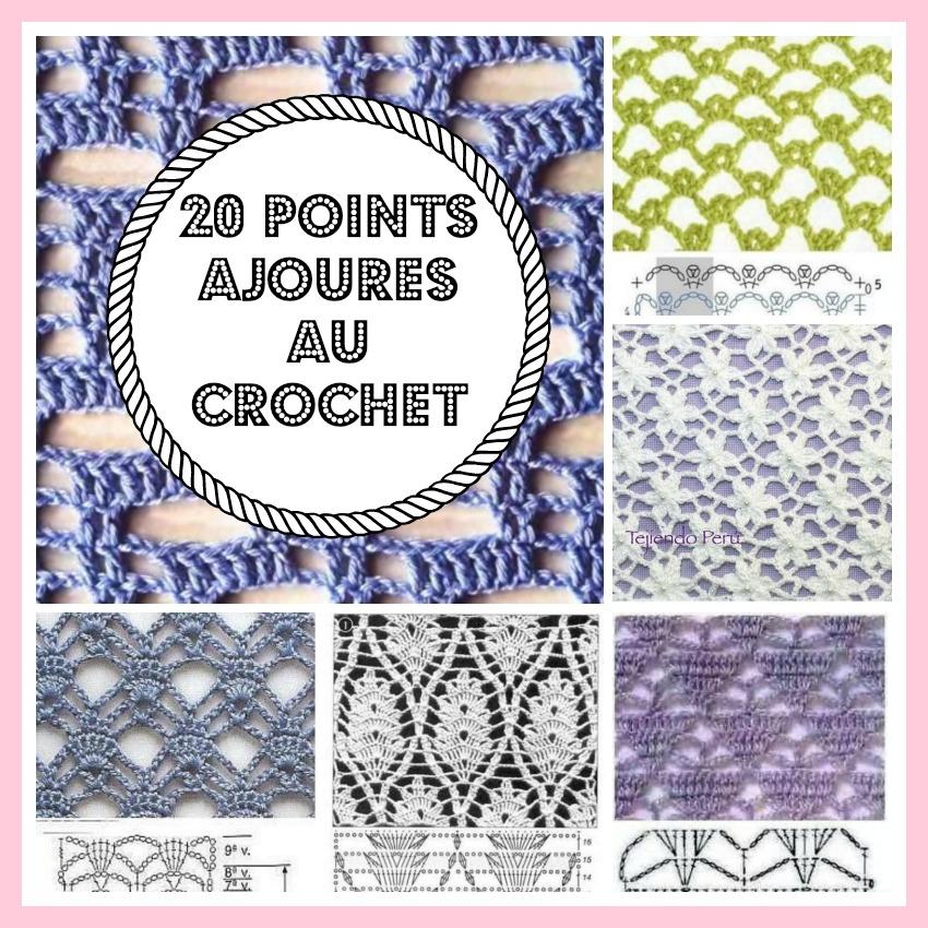 Mes Favoris Tricot Crochet 20 Points Ajourés Au Crochet