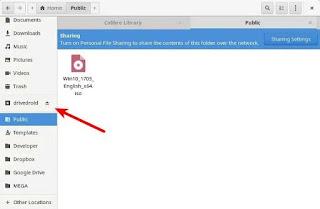 Download dan Konfigurasi DriveDroid