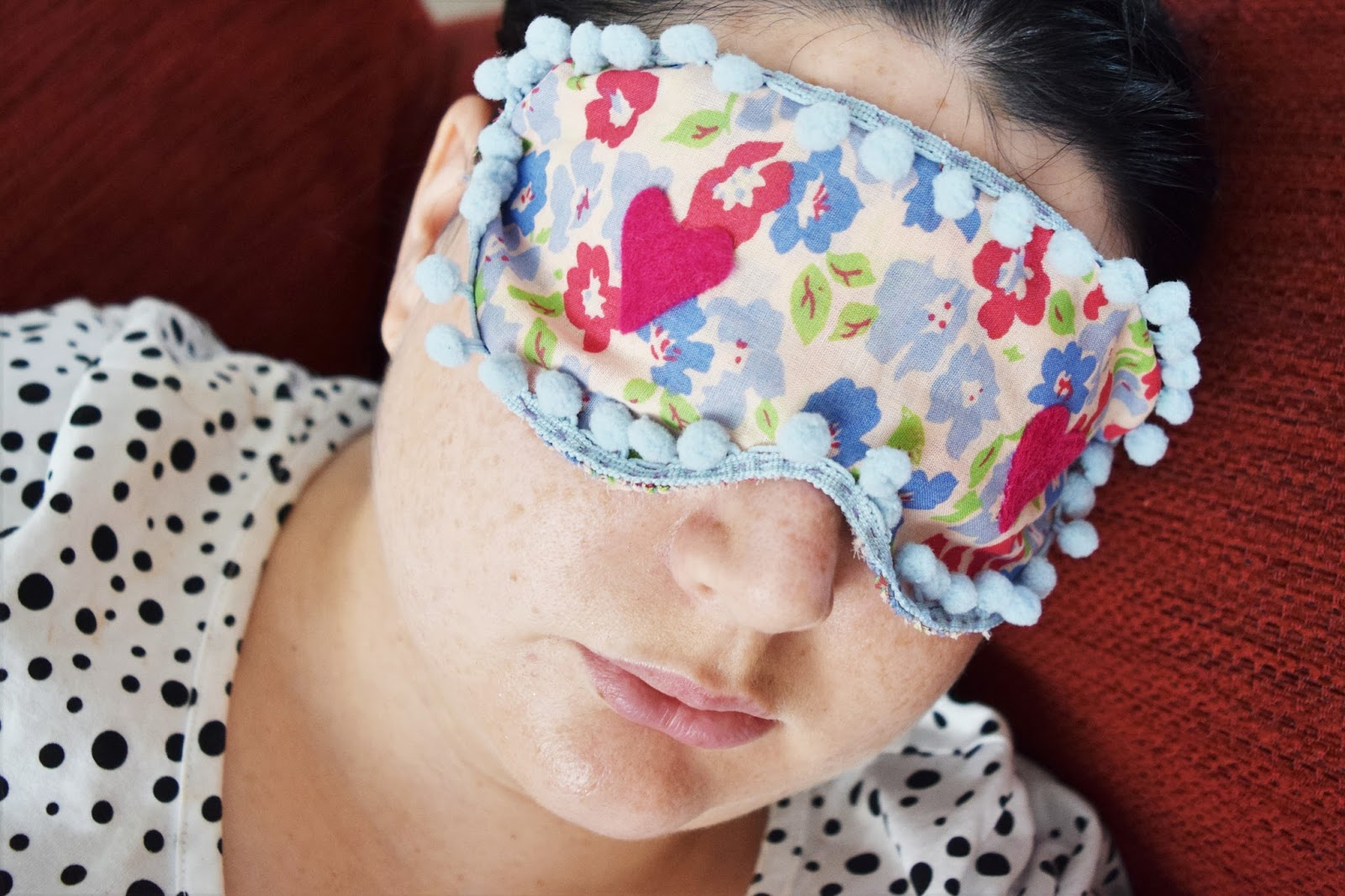 Diy Sleep Eye Mask Tutorial A Life With Frills