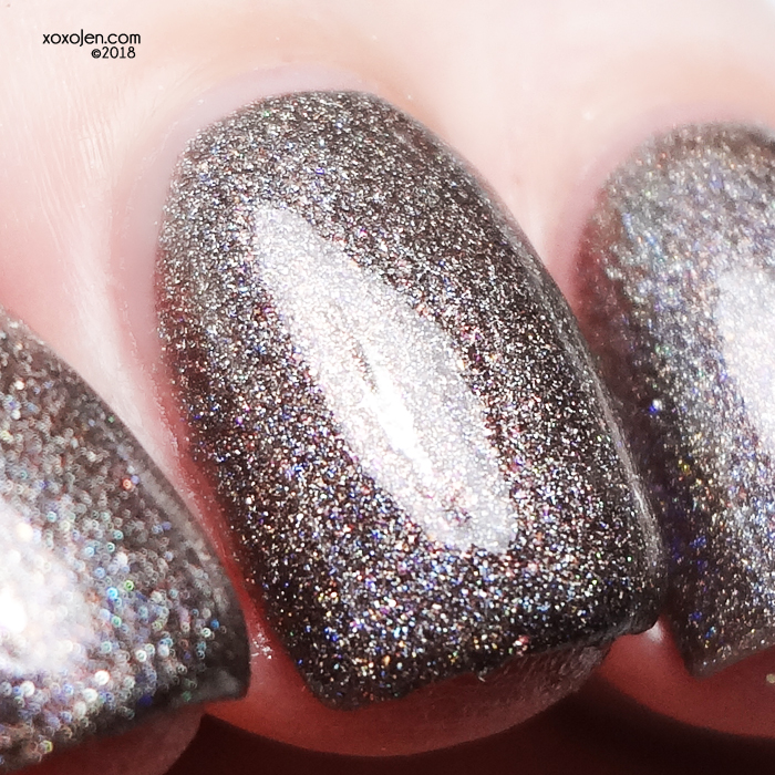 xoxoJen's swatch of Seventy Seven Nail Lacquer Letters & Sodas