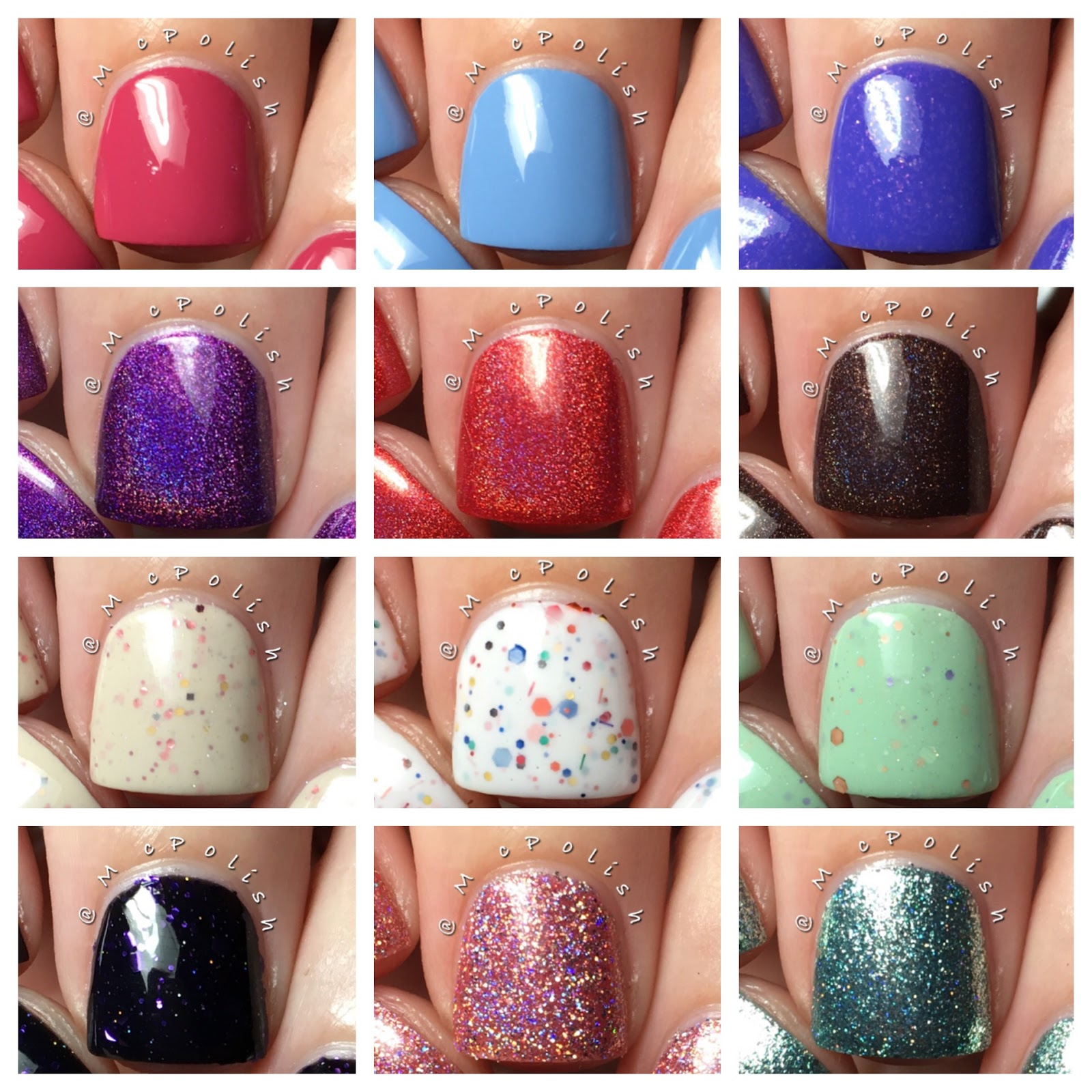 KBShimmer Fall 2016 Collection - Polish Etc.
