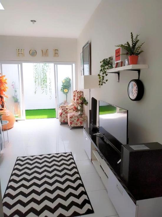 Desain Interior Rumah Minimalis Type 36 : desain, interior, rumah, minimalis, LINGKAR, WARNA:, Desain, Interior, Rumah, Minimalis, 36/90, Dengan, Dapur, Terbuka