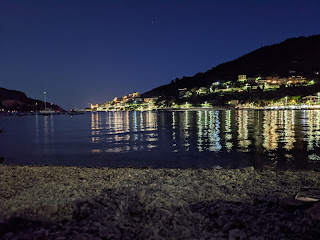View of Porto Venere from Spiaggia Libera delle Terrazze