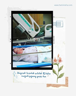 Baby newborn Kakak Asma