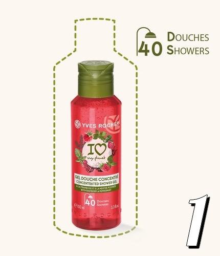1-gel-douche-concentré-yves-rocher-framboise-menthe-poivree