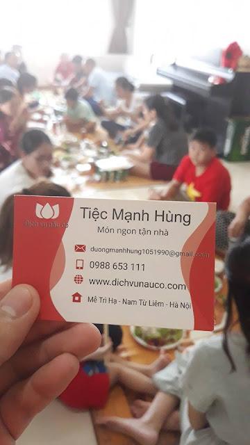 Dịch Vụ Nấu Cỗ ở Hoàng Mai - Chung cư Newhorizon