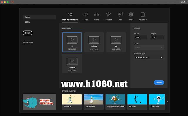 Cấu hình yêu cầu để cài đặt Adobe Animate CC 2019