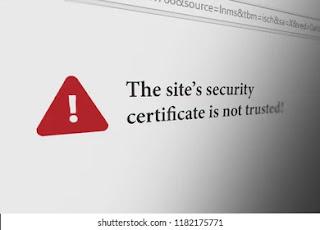 Cara Mengatasi Security Certificate Error Mudah