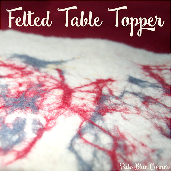 Felted Table Topper