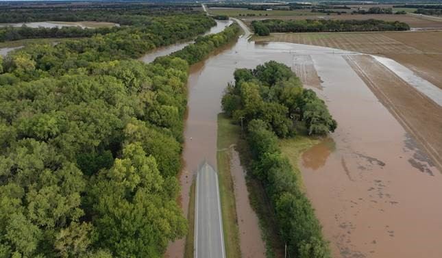 Kansas Transportation: Wet and wild weather affects roads
