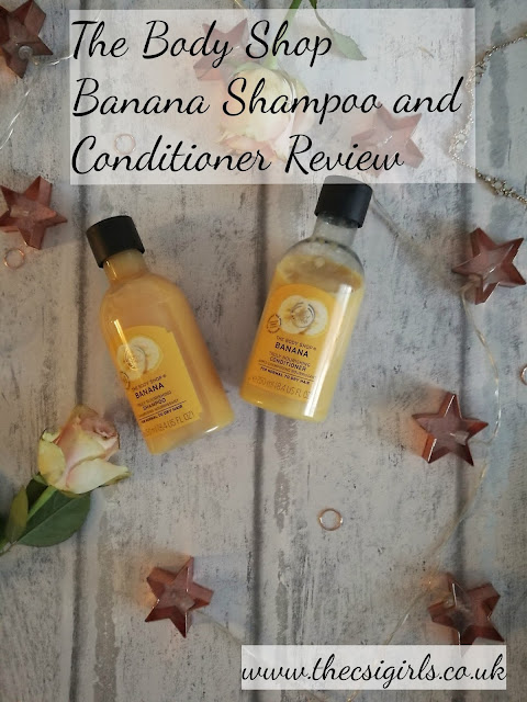 The body shop banana shampoo and conditioner Cruelty free review