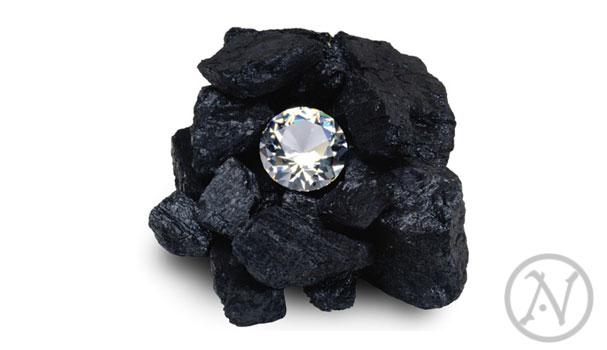 Batu Bara Dan Berlian - Perbedaanya hanya Proses