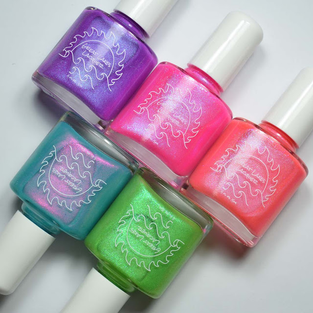neon nail polish collection