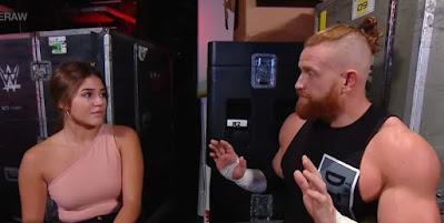 WWE Mysterio Aalyah Buddy Murphy Draft Smackdown Rey Seth Rollins