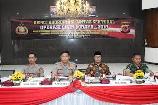 Polres Sukabumi Kota Gelar Rakor