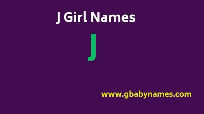 J Girl Names