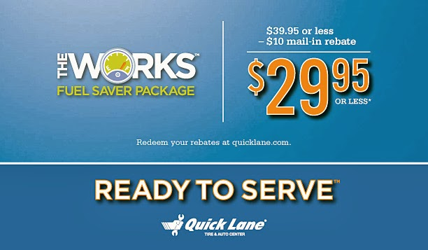 Ford The Works Oil Change Rebate