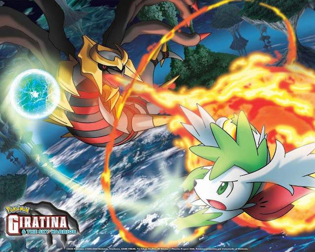 Pokémon: Giratina y el Guerrero Celestial (2.6GB) (HDL) (Latino) (Mega)