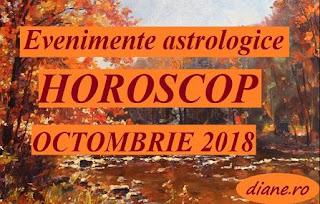 Evenimente astrologice în horoscopul octombrie 2018
