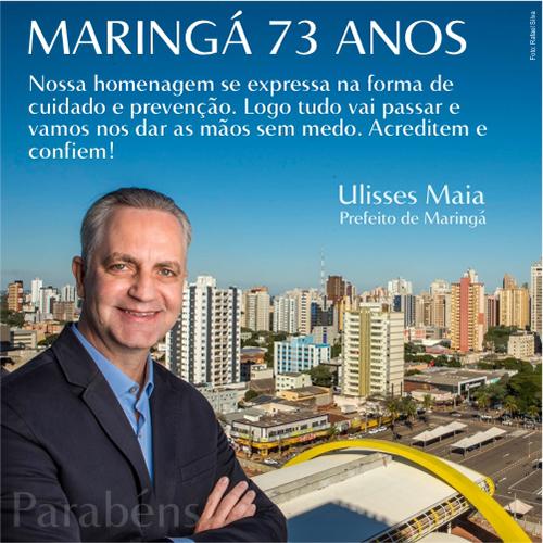Ulisses Maia - Maringá 73 anos