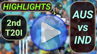 AUS vs IND 2nd T20I 2020