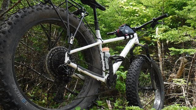 Fatbike Republic Axiom Monsoon 32 Fat Bike Axiom Cycling Gear Panniers U24O Bikepacking Bigfoot 1S Newfoundland