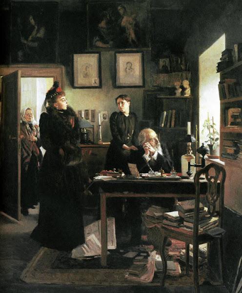 Маковский Владимир Егорович - Две сестры. 1893