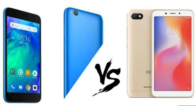 Redmi Go vs Redmi 6A: Comparing Xiaomi's Most Affordable Phones