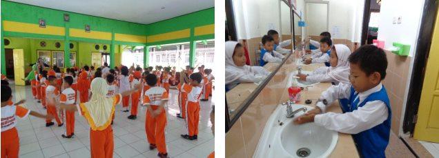 Penerapan Budaya Perilaku Hidup bersih dan Sehat melalui Pembiasaan dan Keteladanan Guru, Wujudkan Anak Berkarakter di PAUD, TK/RA, SD/MI
