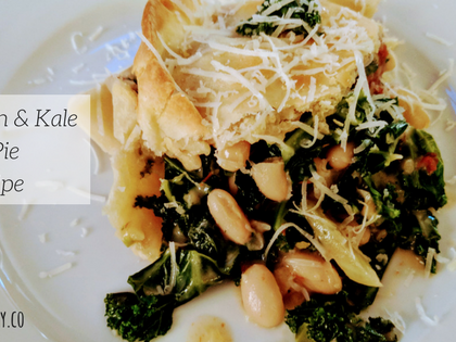 White Bean & Kale Pot Pie #Recipe