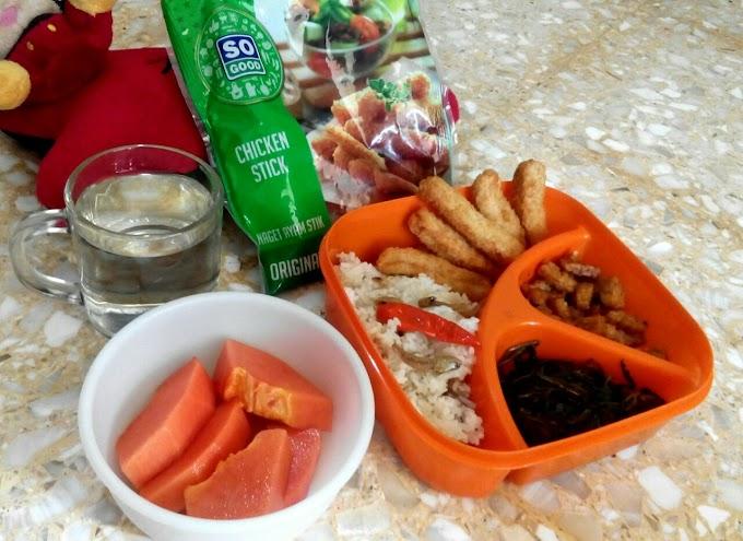 Menyiapkan Menu Piring Gizi Seimbang : Nasi Liwet So Good  yang Very Good