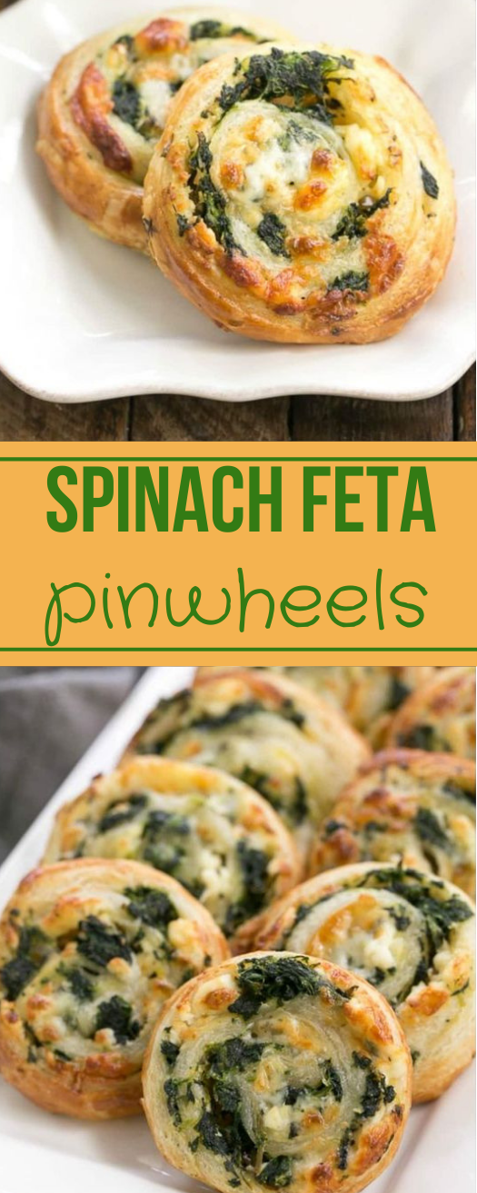 Spinach Feta Pinwheels #vegetarian #shrimp #cauliflower #mushroom #spinach