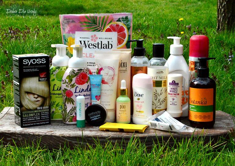 Kosmetyczne zużycia Kwietnia - Denko w mini recenzjach kosmetyki