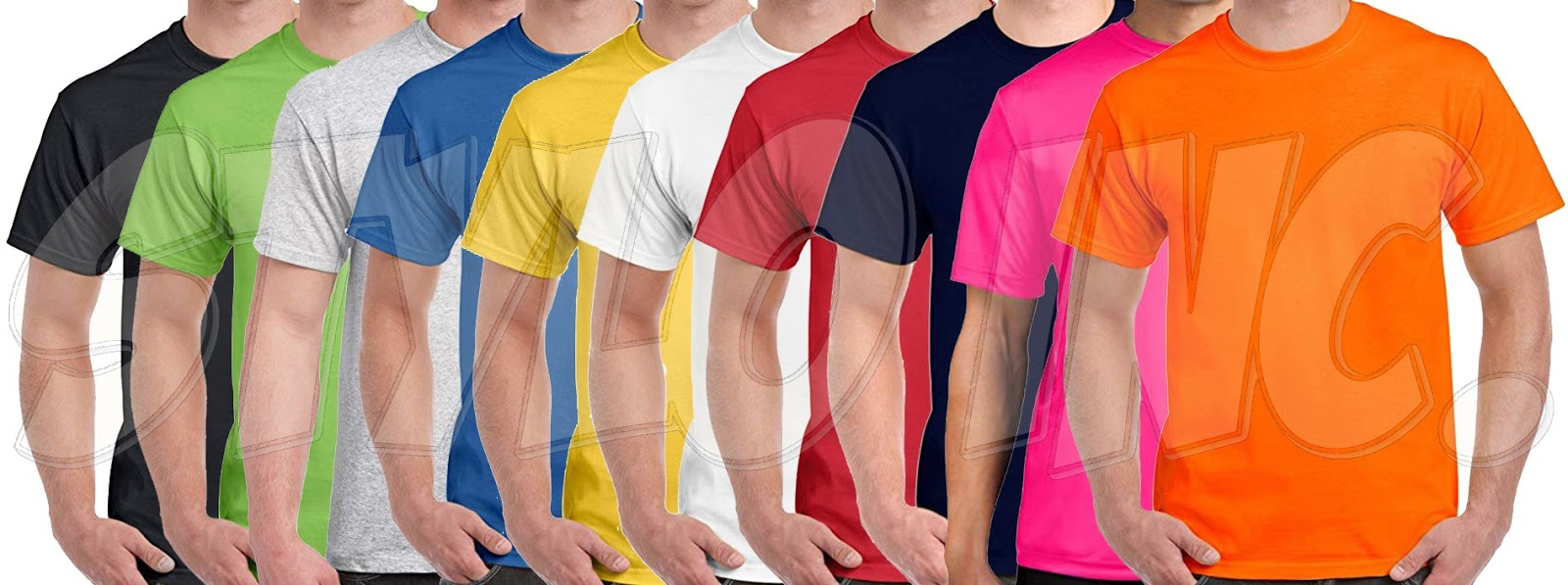 Cotton T-Shirts 6pcs Bundle