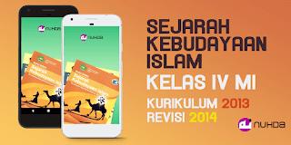 Aplikasi Buku Siswa SKI (Sejarah Kebudayaan Islam) Kelas 4 MI Kurikulum 2013 Revisi 2014