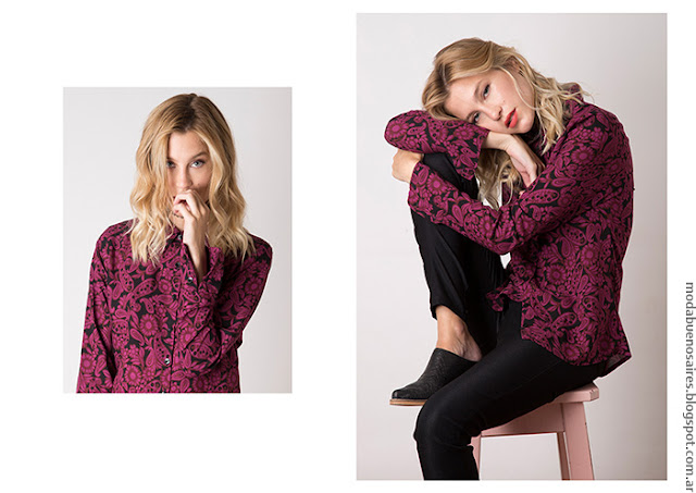 Blusas invierno 2016 moda mujer Nuara. Moda 2016.