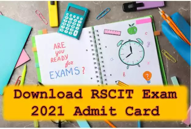 GET RSCIT EXAM ADMIT CARD HERE NOW   RAJASTHAN RSCIT EXAM 3 OCTOBER 2021