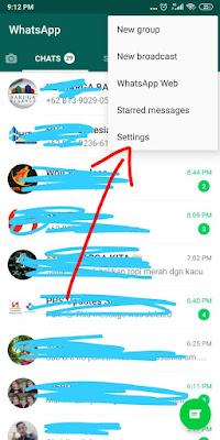 menonaktifkan download video otomatis pada whatsapp