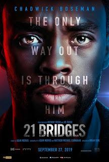21 Bridges First Look Poster 1