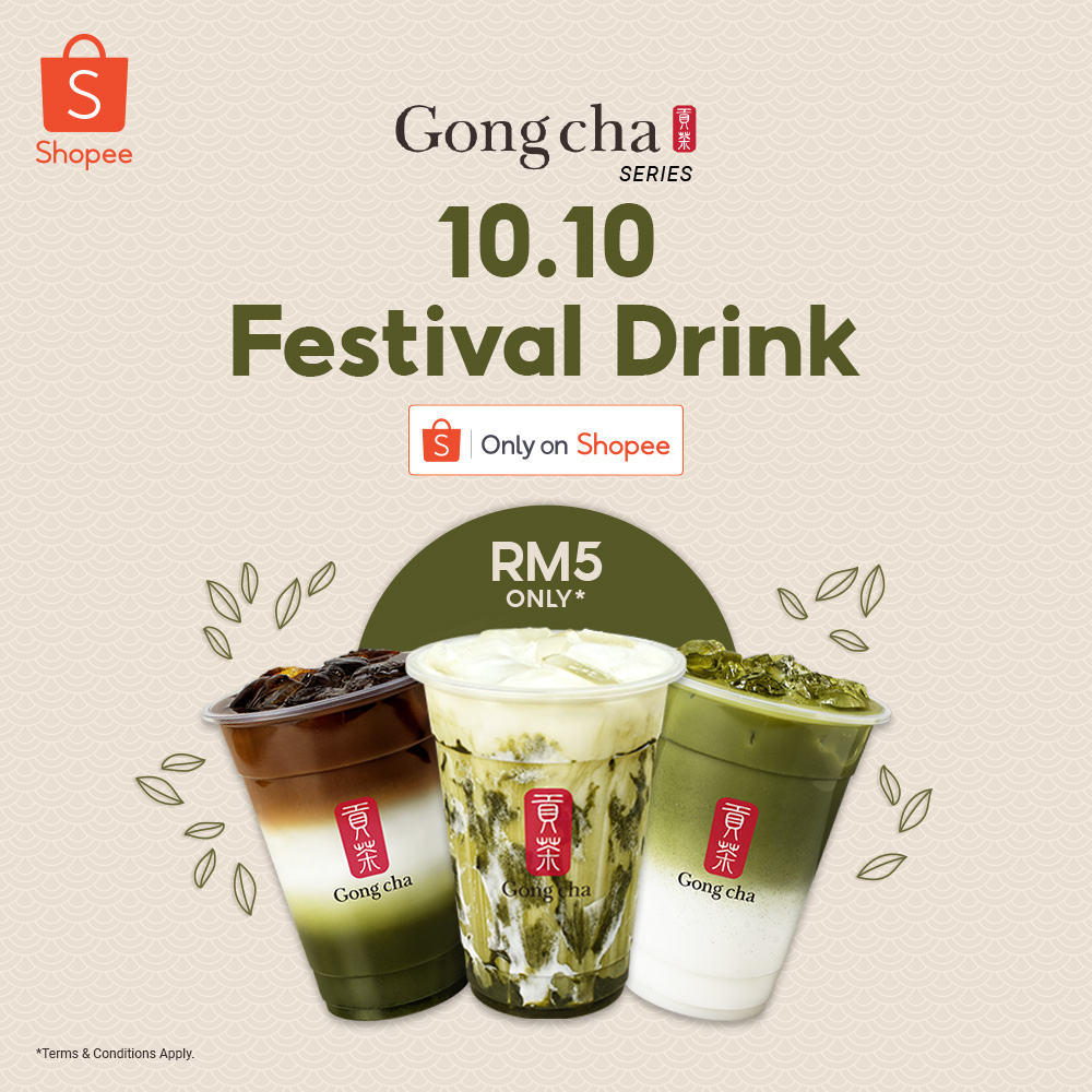 [Review] Matcha Lovers Should Check Out These New Drinks At Gong Cha