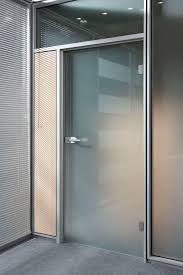 Glass Doors in an Aluminum Profile