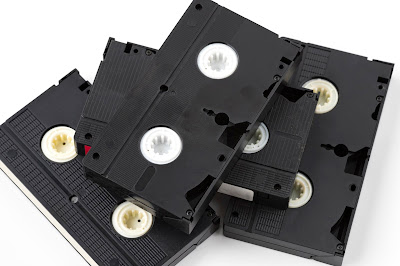 大人のビデオテープの集合イメージ